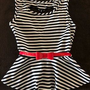 Tops - NWOT Small Pinup peplum Top